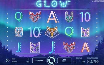 Glow een nieuw Netent Slot